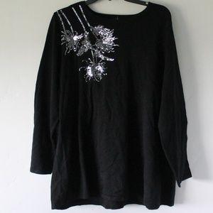 Alfani black shirt.